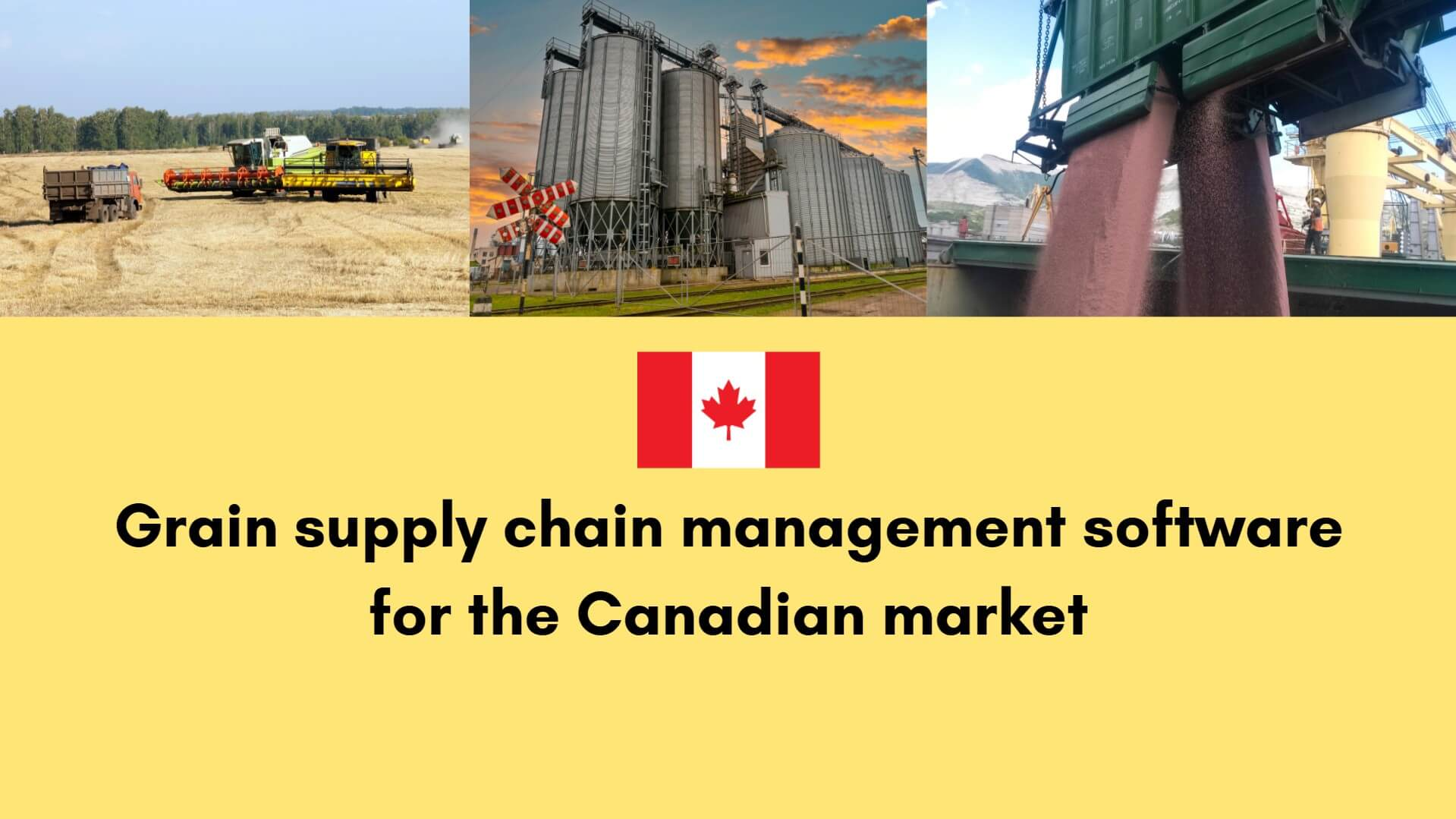 Grain supply chain management software for the Canadian market